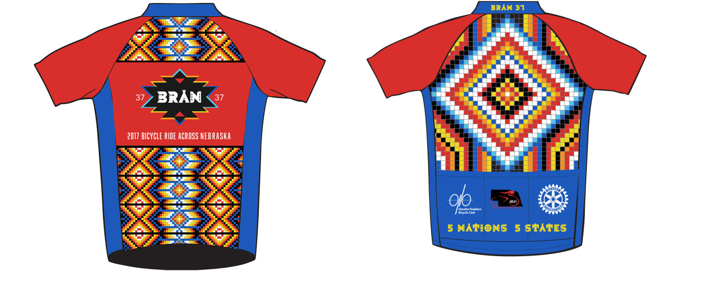 Cycling shirt design your own - 5 Nations 5 States Tour